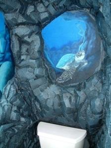 bathroom cave