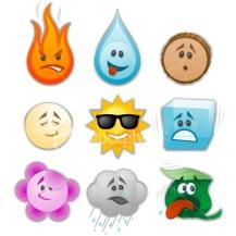 Environmental-emoticons